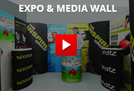 Working of Expo Media Wall
